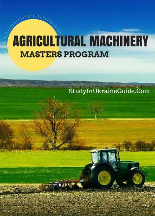 Agricultural Machinery Masters