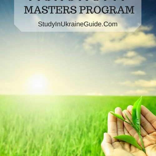 Agronomy Masters