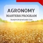 Agronomy Masters Program Engllish