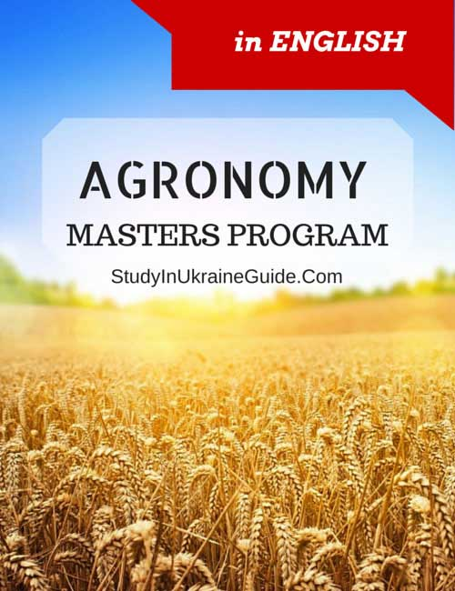 Agronomy Masters Program Engllish