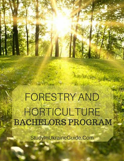 Forestry and Forticulture Bachelors