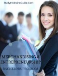 Merchandising Entrepreneurship Bachelors