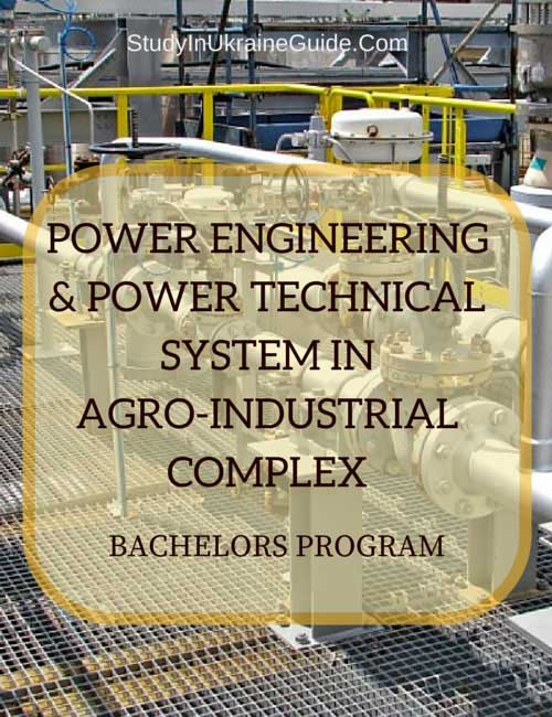 Power Engineering Technical System in Agro-industrial Ccomplex Bachelors
