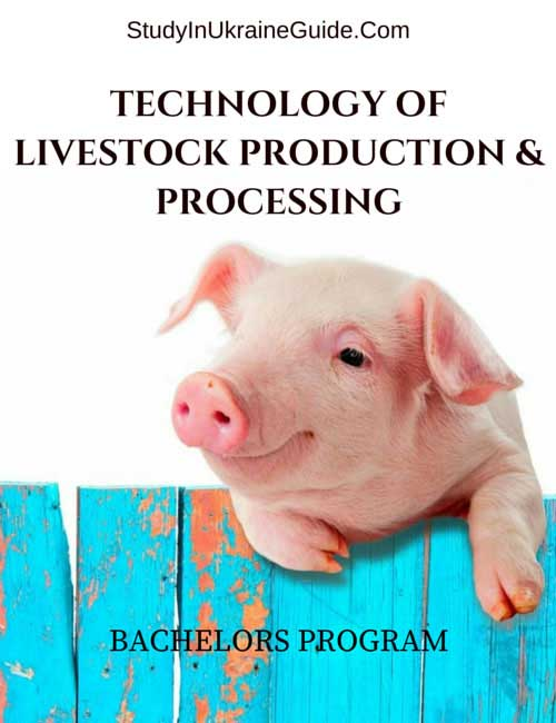 Technology Livestock Production Processing Bachelors