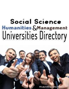social sciences management humanities universities